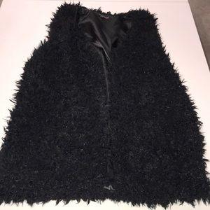 Be Mine faux fur vest